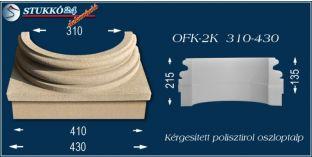 Kérgesített polisztirol oszloptalp klasszikus OFK-2K 310/430-p