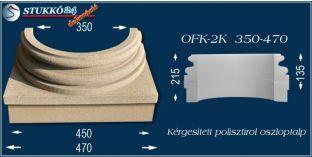 Kérgesített polisztirol oszloptalp klasszikus OFK-2K 350/470-p