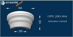 Polisztirol oszlopfő klasszikus mintázattal OFK 200/364