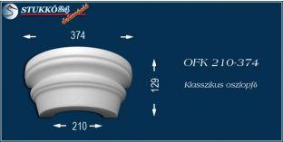 Polisztirol oszlopfő klasszikus mintázattal OFK 210/374