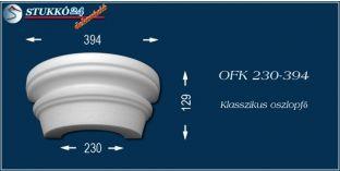 Polisztirol oszlopfő klasszikus mintázattal OFK 230/394