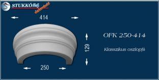 Polisztirol oszlopfő klasszikus mintázattal OFK 250/414