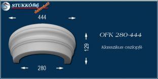 Polisztirol oszlopfő klasszikus mintázattal OFK 280/444