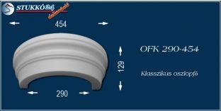 Polisztirol oszlopfő klasszikus mintázattal OFK 290/454
