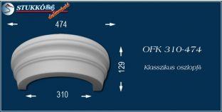 Polisztirol oszlopfő klasszikus mintázattal OFK 310/474