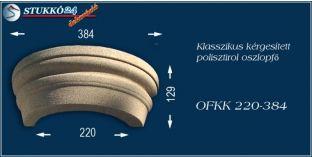 Kérgesített polisztirol oszlopfő klasszikus OFKK 220/384