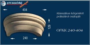 Kérgesített polisztirol oszlopfő klasszikus OFKK 240/404