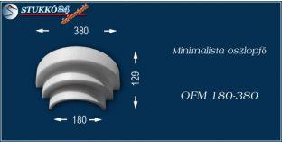 Polisztirol oszlopfő minimalista OFM 180/380