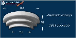 Polisztirol oszlopfő minimalista OFM 200/400