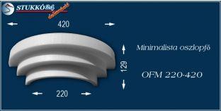 Polisztirol oszlopfő minimalista OFM 220/420