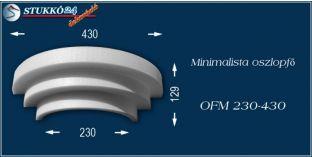 Polisztirol oszlopfő minimalista OFM 230/450