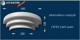 Polisztirol oszlopfő minimalista OFM 240/440