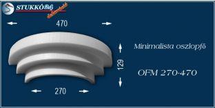 Polisztirol oszlopfő minimalista OFM 270/470