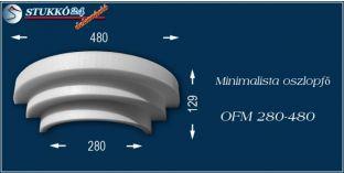 Polisztirol oszlopfő minimalista OFM 280/480