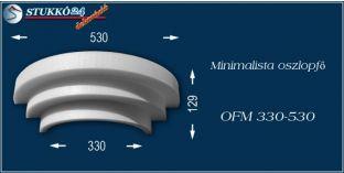 Polisztirol oszlopfő minimalista OFM 330/530