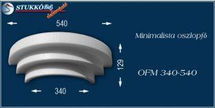Polisztirol oszlopfő minimalista OFM 340/540