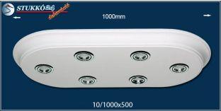 LED spotlámpa Érd 10/1000x500 ív meleg fehér