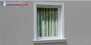 Polisztirol stukkó, ablak stukkó, Debrecen 100-KT-185-195