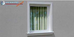 Polisztirol stukkó, ablak stukkó, Debrecen 100-KT-195-205