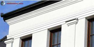 Bécs 133 kérgesített polisztirol léc, homlokzati díszítés
