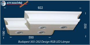 Mennyezeti LED lámpa Budapest 303/202 ÚJ RGB LED