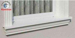 Komplett alumínium ablakpárkány 124 620-670-250