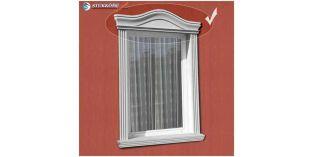 Kérgesített timpanon, ablakdekoráció 150/117 670-720