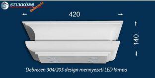 Mennyezeti LED lámpa Debrecen 304/205 meleg fehér