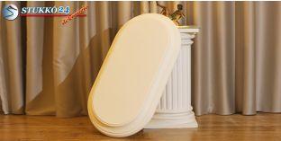 Design lámpa, mennyezeti lámpasziget Dombóvár 14/1000x500-3 íves, világítás nélkül