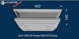 Mennyezeti Led lámpa Győr 308/209 RGB LED