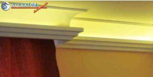 Rejtett világítás díszléc karnistámasz Kaposvár 210