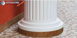 Kérgesített polisztirol oszlopláb, oszloptalp, OFMK 240/440