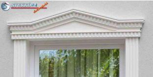 Timpanon, ablak stukkó, díszítőelem, 107 F/104 F 920-970