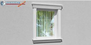 Kérgesített timpanon, ablakdísz egyenes 107F/117 570-620