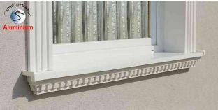Ablakpárkány, polisztirol stukkó, 106F 570-620-200