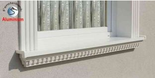 Ablakpárkány, polisztirol stukkó, 106F 870-920-150