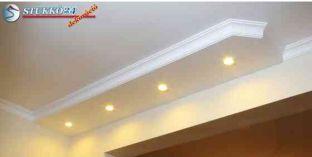 Spot izzó világítás polisztirol stukkó Érd 400+10