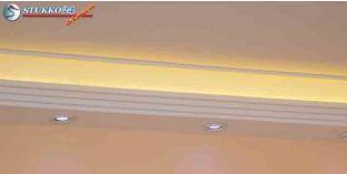 Fehér LED spot lámpa keret