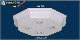 LED spotlámpa Érd 10/500x500 meleg fehér