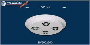 LED spotlámpa Érd 10/500x500 ív meleg fehér