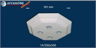 LED spotlámpa Dombóvár 14/500x500 meleg fehér