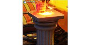 Polisztirol oszlop, oszlop dekoráció, beépített LED rejtett világítás, ODKK-2-260-678