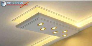 Debrecen polisztirol profil mennyezeti direkt és indirekt világítás kiépítéséhez 270+2x205