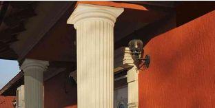 Polisztirol klasszikus oszlopfő talppal OFK-2 290-410