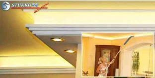 Polisztirol stukkó kombinált világítás kiépítéséhez Győr 270+209 PLEXI PLUS
