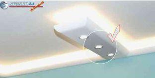 Polisztirol stukkó világítástechnika Ladánybene 320 U