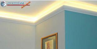 Stukkó díszléc indirekt világítással Nyíregyháza 201