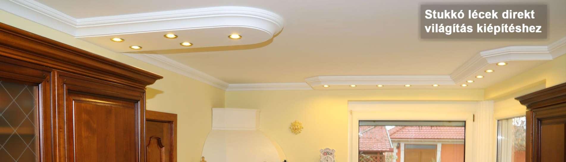Közvetlen fényforrás spot lámpa, led izzó használatával