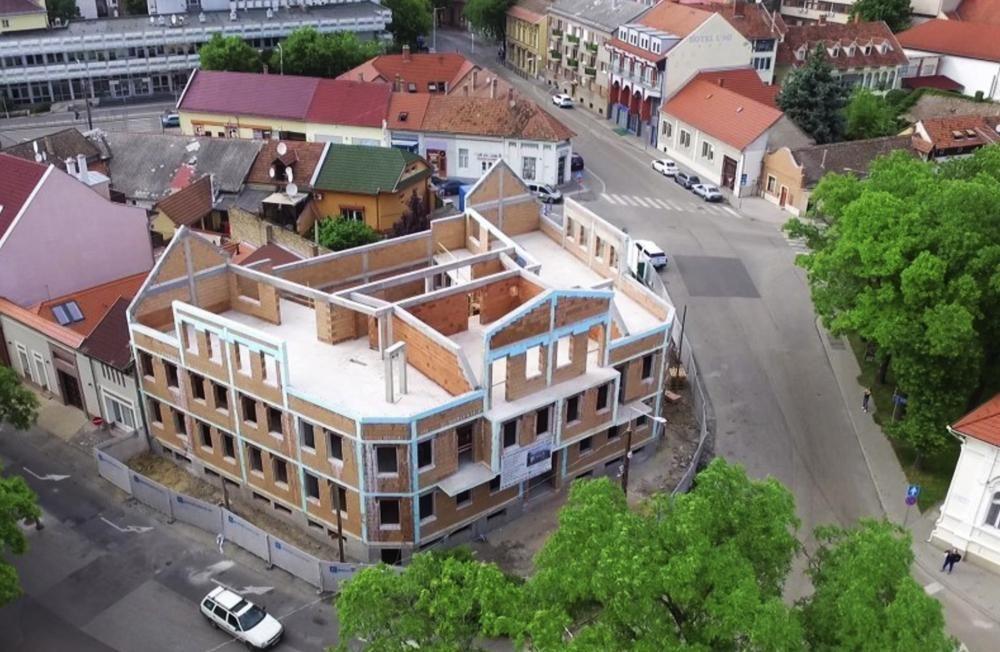 Energiahatékony ház polisztirol stukkóval I.