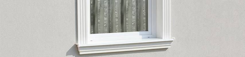 Homlokzatdíszítési ötletek lépésről-lépésre 3. Komplett alumínium ablakpárkány